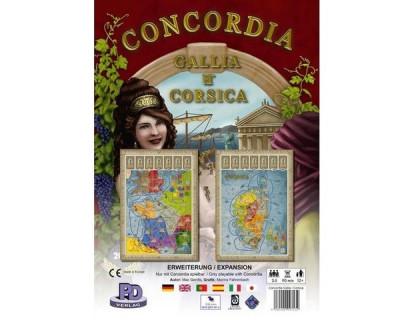 Настольная игра Конкордия. Галлия и Корсика