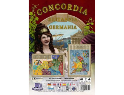 Настольная игра Конкордия. Британия и Германия (Concordia)