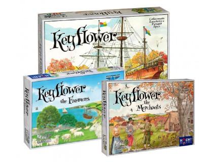Настольная игра Keyflower + Keyflower: Farmers + Keyflower: Merchants