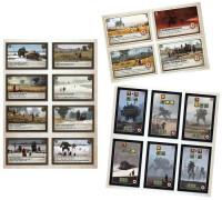 Настольная игра Серп. Комплект из 18 промокарт