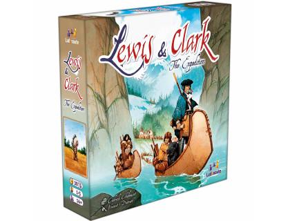 Настольная игра Lewis & Clark (Льюис и Кларк)
