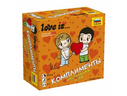 Настольная игра Love is… Комплименты