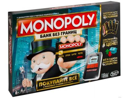 Настольная игра Монополия с банковскими картами (Monopoly)