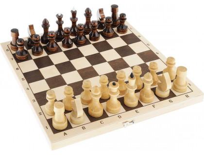 Настольная игра Шахматы, шашки 2 в 1