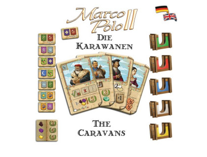 Настольная игра Marco Polo 2 - The Caravans (Марко Поло 2)
