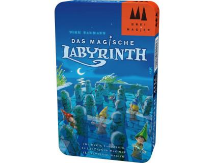 Настольная игра Magic Labyrinth compact (Магический лабиринт в жестяной коробке)
