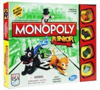 Настольная игра Монополия Джуниор (Monopoly Junior, Монополия для детей)