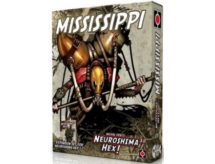 Настольная игра Neuroshima Hex 3.0: Mississippi (Нейрошима Гекс, Нейрошима 3.0: Миссисипи)