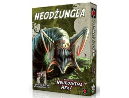 Настольная игра Neuroshima Hex: Neo Jungle (Нейрошима Гекс, Нейрошима 3.0: Нео джангл)