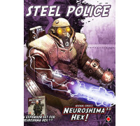 Настольная игра Neuroshima Hex 3.0: Steel Police (Нейрошима Гекс, Нейрошима 3.0: Стальная полиция)