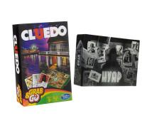 Настольная игра Cluedo compact (Клюэдо дорожная ) + NOIR: Deductive Mystery Game (Нуар)