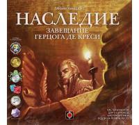 Настольная игра Наследие. Завещание герцога де Креси (Legacy, Легаси)
