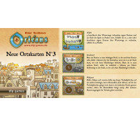 Настольная игра Orleans: Expansion 3 (Orleans: Place Tiles №3, Орлеан: Дополнение 3)