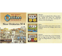 Настольная игра Orleans: Expansion 4 (Orleans: Place Tiles №4, Орлеан: Дополнение 4)