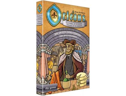 Настольная игра Orleans: Trade & Intrigue Expansion (Орлеан: Торговля и Интриги) русское издание