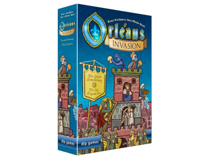 Настольная игра Orleans: Orleans: Invasion Expansion (Орлеан: Вторжение)