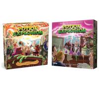 Настольная игра Potion Explosion + Potion Explosion: The Fifth Ingredient