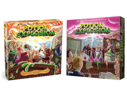 Настольная игра Potion Explosion + Potion Explosion: The Fifth Ingredient