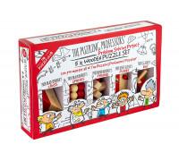 Набор из 5 головоломок Puzzling Professors (5 Wooden Puzzle Set)