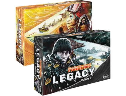 Настольная игра Пандемия: Наследие 2 (Pandemic Legacy: Season 2) русское издание