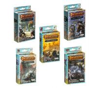 Настольная игра Pathfinder. Череп и Кандалы. Набор дополнений 2,3,4,5,6