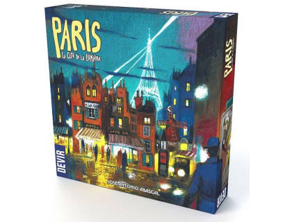 Настольная игра Paris: City of lights (Париж: Город Огней)