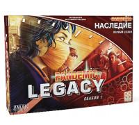 Настольная игра Пандемия: Наследие (Pandemic: Legacy) русское издание