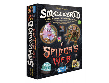 Настольная игра Small World: A Spider's Web (Маленький мир: Паутина)