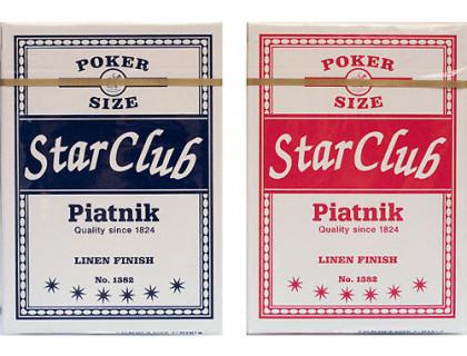 Карты игральные Poker Star Club