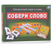 Настольная игра Собери слово (Скрабл, эрудит)