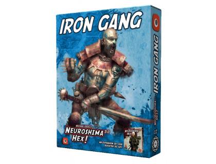 Настольная игра Neuroshima Hex: Iron Gang (Нейрошима)