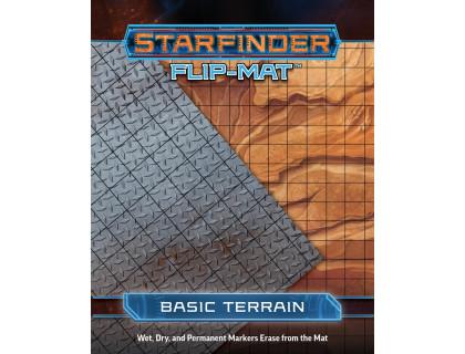 """Настольная ролевая игра Starfinder. Игровое поле """"Базовая местность"""""""