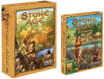 Настольная игра Stone Age + Stone Age: Style is the Goal (Каменный век + Роскошь каменного века)