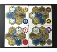 Настольная игра Серп. Модульное поле (Scythe. Modular board)