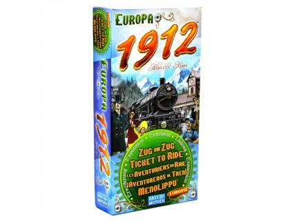 Настольная игра Ticket to Ride: Europa 1912 (Билет на поезд: Европа 1912) русское издание