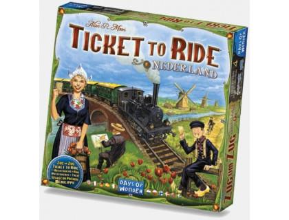 Настольная игра Ticket to Ride: Nederland (Билет на поезд: Нидерланды)