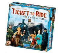 Настольная игра Ticket to Ride: Rails and Sails (Билет на поезд) иностранное издание