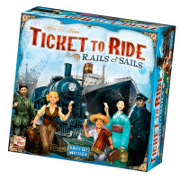 Настольная игра Ticket to Ride: Rails and Sails (Билет на поезд) иностранное издание