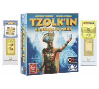 Настольная игра Tzolk'in: The Mayan Calendar + Tzolkin: Mini Expansion (Цолкин, Tzolkin)