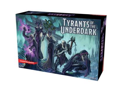 Настольная игра Dungeons & Dragons: Tyrants of the Underdark