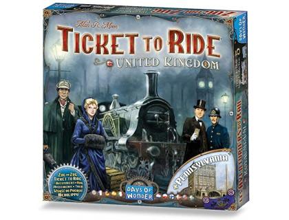 Настольная игра Ticket to Ride: UK/Pennsylvania (Билет на поезд: Великобритания и Пенсильвания)