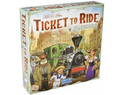 Настольная игра Ticket to Ride: Germany (Билет на поезд: Германия)