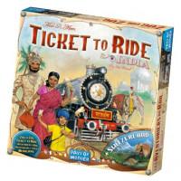 Настольная игра Ticket to Ride: India & Switzerland (Билет на поезд: Индия и Швейцария)