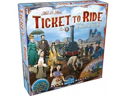 Настольная игра Ticket to Ride: France & Old West (Билет на поезд: Франция / Дикий запад)