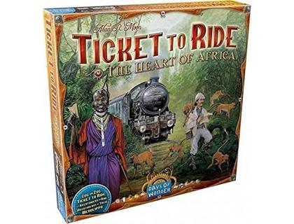 Настольная игра Ticket to Ride: The Heart of Africa (Билет на поезд: Сердце Африки)