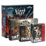 Настольная игра Blood Rage + 3 дополнения (Кровь и ярость) русское издание