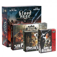 Настольная игра Blood Rage + 3 дополнения (Кровь и ярость) русское издание