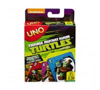 Настольная игра Uno Turtles (Уно черепашки-ниндзя)