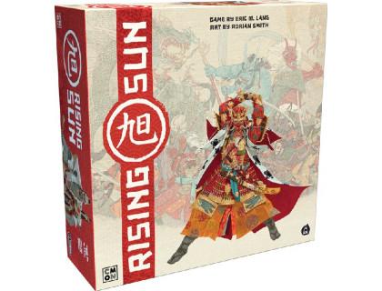Настольная игра Восходящее Солнце (Rising Sun) англоязычная