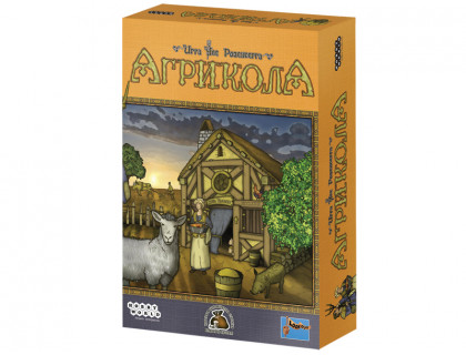 Настольная игра Агрикола (Agricola) русское издание